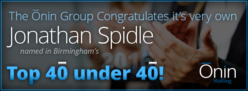 Jonathan Spidle top 40 under 40